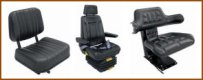 Seats for tractors,trucks and equipment